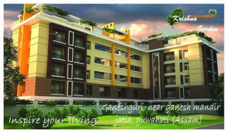 1467 sqft, 3 bhk Apartment in Builder Krishna Garden Dispur, Guwahati at Rs. 60.0000 Lacs