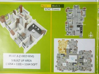 1164 sqft, 3 bhk Apartment in Builder Pratistha enclave Lalmati, Guwahati at Rs. 42.0000 Lacs
