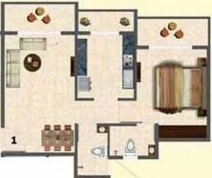 700 sqft, 1 bhk Apartment in Tharwani Ariana Ambernath West, Mumbai at Rs. 5200