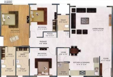 2259 sqft, 3 bhk BuilderFloor in Raj Punya Bhoomi Vesu, Surat at Rs. 0.0100 Cr