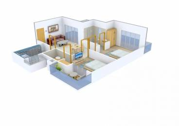 1310 sqft, 2 bhk Apartment in Anant Maceo Sector 91, Gurgaon at Rs. 62.0000 Lacs