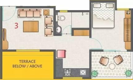 595 sqft, 1 bhk Apartment in Kohinoor Nano Homes Ravet, Pune at Rs. 12000