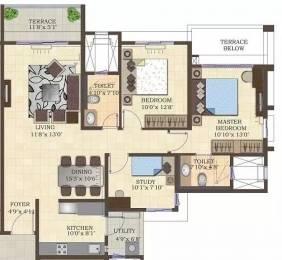 1335 sqft, 2 bhk Apartment in Mahindra Antheia Pimpri, Pune at Rs. 24000