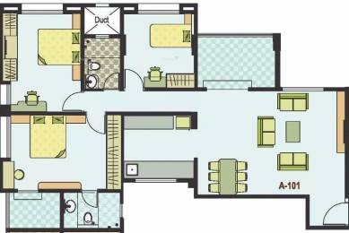 1436 sqft, 2 bhk Apartment in Sanskruti Basant Bahaar Pashan, Pune at Rs. 18000