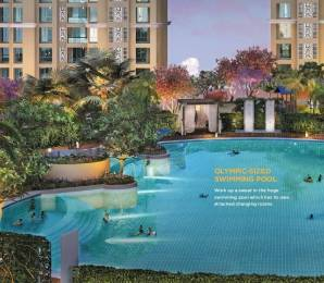 747 sqft, 2 bhk Apartment in Dosti West County Oak Thane West, Mumbai at Rs. 95.0000 Lacs