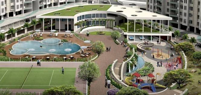 2200 sqft, 4 bhk Apartment in Builder Project Kharadi, Pune at Rs. 1.4500 Cr