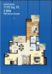 1175 sqft, 2 bhk Apartment in Builder Project Zone L Dwarka, Delhi at Rs. 39.1300 Lacs