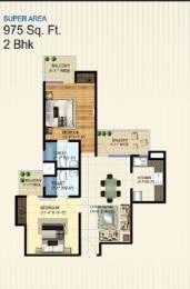 975 sqft, 2 bhk Apartment in Builder Zenex dwarka next in l zone Zone L Dwarka, Delhi at Rs. 30.7500 Lacs