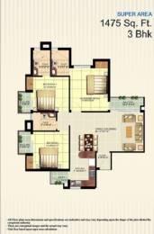1475 sqft, 3 bhk Apartment in Builder Zenext Dwarka next in L zone Zone L Dwarka, Delhi at Rs. 47.1500 Lacs