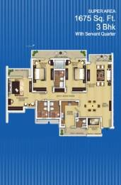 1675 sqft, 3 bhk Apartment in Builder Zenext Dwarka next in L zone Zone L Dwarka, Delhi at Rs. 53.3000 Lacs