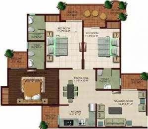1555 sqft, 3 bhk Apartment in Ajnara The Belvedere Sector 79, Noida at Rs. 85.0000 Lacs