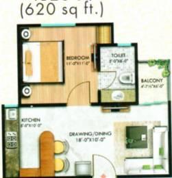 620 sqft, 1 bhk Apartment in SSG Shiv Sarovar Ajmer Road, Jaipur at Rs. 16.0000 Lacs