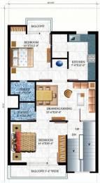 900 sqft, 2 bhk Apartment in Omaxe Shubhangan Ajmer Road, Jaipur at Rs. 16.2000 Lacs