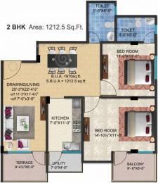 1212 sqft, 2 bhk Apartment in SSG Shivalika Gokulpura, Jaipur at Rs. 40.0000 Lacs