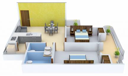1080 sqft, 2 bhk Apartment in Saya Gold Avenue Vaibhav Khand, Ghaziabad at Rs. 62.0000 Lacs