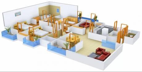 2255 sqft, 3 bhk Apartment in 3C Lotus Boulevard Espacia Sector 100, Noida at Rs. 30000