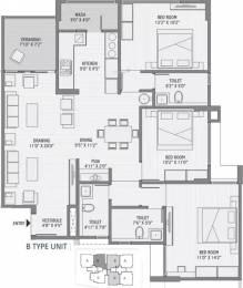 2060 sqft, 3 bhk Apartment in Maruti Shyam Residency Jodhpur Village, Ahmedabad at Rs. 1.1400 Cr