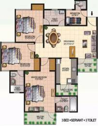 1720 sqft, 3 bhk Apartment in Today Homes Ridge Residency Sector 135, Noida at Rs. 80.0000 Lacs