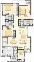 1949 sqft, 3 bhk Apartment in Akshaya Metropolis Maraimalai Nagar, Chennai at Rs. 85.0000 Lacs