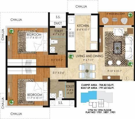 950 sqft, 2 bhk Apartment in Builder Project Dadar East, Mumbai at Rs. 3.4000 Cr
