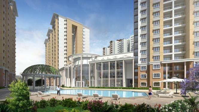 1740 sqft, 3 bhk Apartment in Mantri WebCity Kuvempu Layout on Hennur Main Road, Bangalore at Rs. 99.4280 Lacs