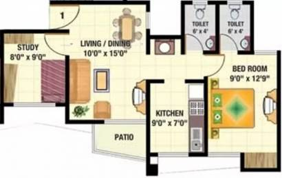 720 sqft, 1 bhk Apartment in Sadguru Complex Mira Road East, Mumbai at Rs. 50.0000 Lacs