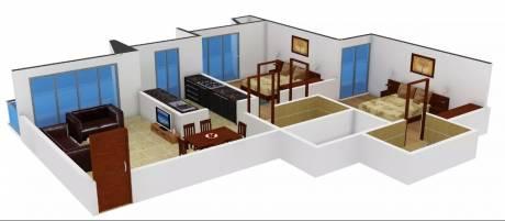 985 sqft, 2 bhk Apartment in GNC Shree Shashwat II Mira Road East, Mumbai at Rs. 80.0000 Lacs