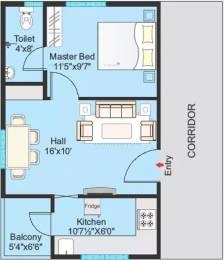 590 sqft, 1 bhk Apartment in Modi Lotus Homes Cheeriyal, Hyderabad at Rs. 20.0000 Lacs