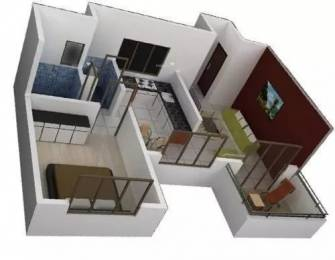 710 sqft, 1 bhk Apartment in Vardhaman Vardhaman Heights Phase2 Rahatani, Pune at Rs. 45.0000 Lacs