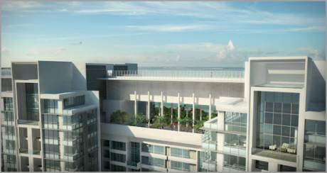2300 sqft, 3 bhk Apartment in Builder Wadhwa Palm Beach Residency nerul west, Mumbai at Rs. 75000