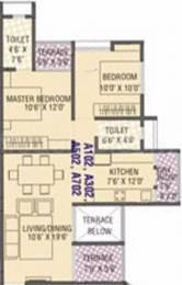 885 sqft, 2 bhk Apartment in Cidco NRI Complex Seawoods, Mumbai at Rs. 60000