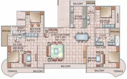3250 sqft, 4 bhk Apartment in Siddhi Grandeur Kharghar, Mumbai at Rs. 80000