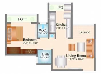 590 sqft, 1 bhk Apartment in Navkar City Phase 1 Naigaon East, Mumbai at Rs. 23.5000 Lacs