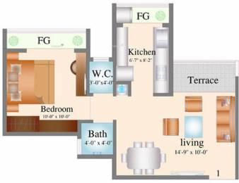 530 sqft, 1 bhk Apartment in Navkar City Phase 2 Naigaon East, Mumbai at Rs. 23.5000 Lacs