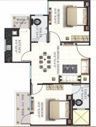 635 sqft, 2 bhk Apartment in Builder girnar hills Awadhpuri, Bhopal at Rs. 18.0000 Lacs
