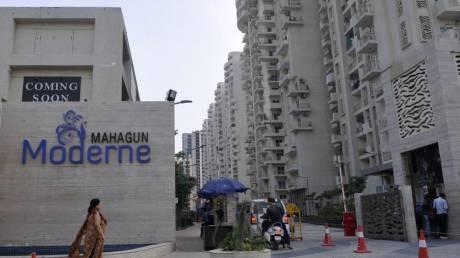 1480 sqft, 3 bhk Apartment in Mahagun Moderne Sector 78, Noida at Rs. 18000