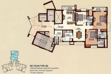 1875 sqft, 3 bhk Apartment in Uppal Plumeria Garden Estate Omicron, Greater Noida at Rs. 55.0000 Lacs