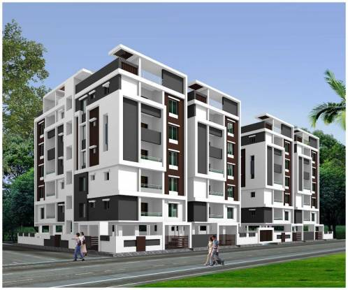 1160 sqft, 2 bhk Apartment in Builder Urban Oaks Yapral, Hyderabad at Rs. 33.6400 Lacs