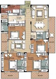 3600 sqft, 4 bhk Apartment in Ninex City Sector 76, Gurgaon at Rs. 1.6000 Cr