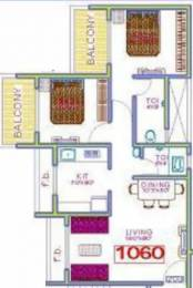 1060 sqft, 2 bhk Apartment in Panchnand Heights Taloja, Mumbai at Rs. 52.0000 Lacs