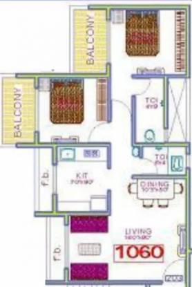 1060 sqft, 2 bhk Apartment in Panchnand Heights Taloja, Mumbai at Rs. 52.0000 Lacs