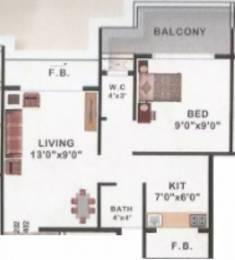 570 sqft, 1 bhk Apartment in Fortune TSP Tara Taloja, Mumbai at Rs. 30.0000 Lacs