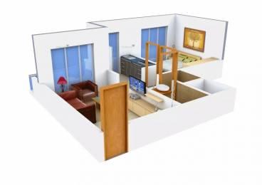 690 sqft, 1 bhk Apartment in Paradise Sai Riverdale Taloja, Mumbai at Rs. 9000
