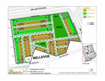 2160 sqft, 3 bhk Villa in Vatika Bellevue Residences Sector 82, Gurgaon at Rs. 1.3000 Cr
