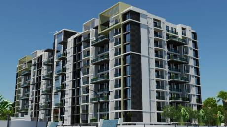 1525 sqft, 2 bhk Apartment in Builder wallfort sapphire Sarona, Raipur at Rs. 38.1250 Lacs