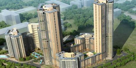 1865 sqft, 3 bhk Apartment in BREDCO Viceroy Court Kandivali East, Mumbai at Rs. 3.2500 Cr