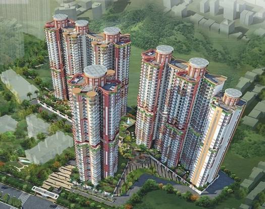 1445 sqft, 3 bhk Apartment in Rishabh Hindon Green Valley Kinauni Village, Ghaziabad at Rs. 60.0000 Lacs