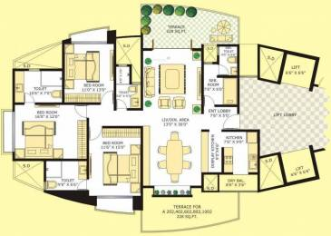 1935 sqft, 3 bhk Apartment in Marvel Citrine Kharadi, Pune at Rs. 1.2600 Cr