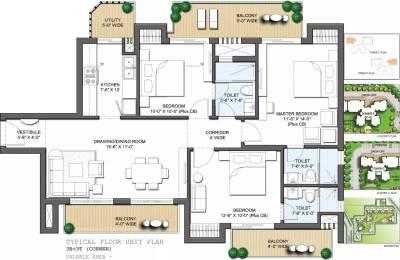 1546 sqft, 3 bhk Apartment in CHD 106 Golf Avenue Sector 106, Gurgaon at Rs. 64.9300 Lacs