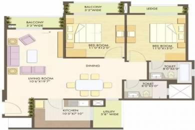 1321 sqft, 2 bhk Apartment in Godrej Anandam Ganeshpeth, Nagpur at Rs. 85.0000 Lacs